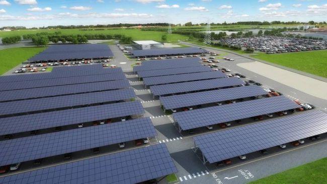 Bentley оснастит свое производство солнечными батареями 1