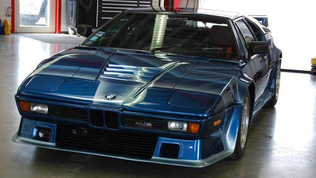 Уникальный тюнингованный BMW M1 оценили почти в миллион долларов 1
