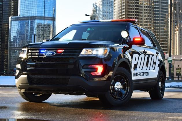 Странная «болезнь» «косит» полицейские «Форды» в США 1