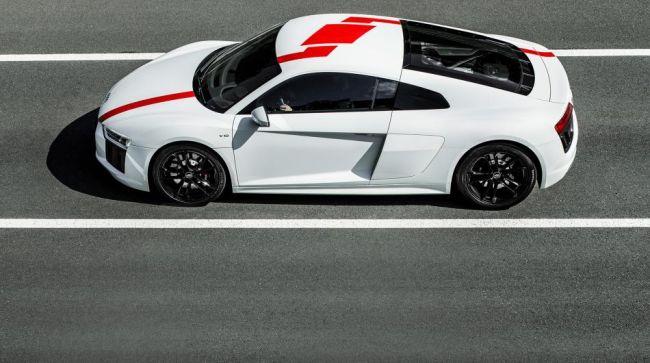 Audi R8 RWS замечен на тестах без камуфляжа 1