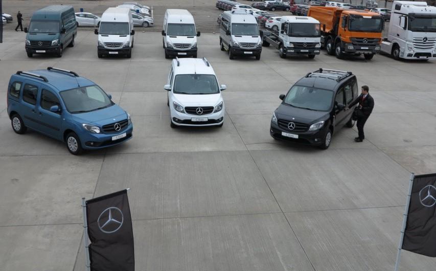Фургон Mercedes-Benz Citan теперь в Украине 2