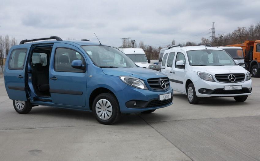 Фургон Mercedes-Benz Citan теперь в Украине 1