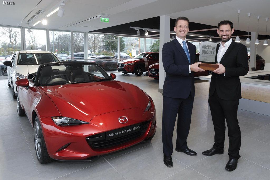 В Великобритании Mazda MX-5 признали «Автомобилем года»  2