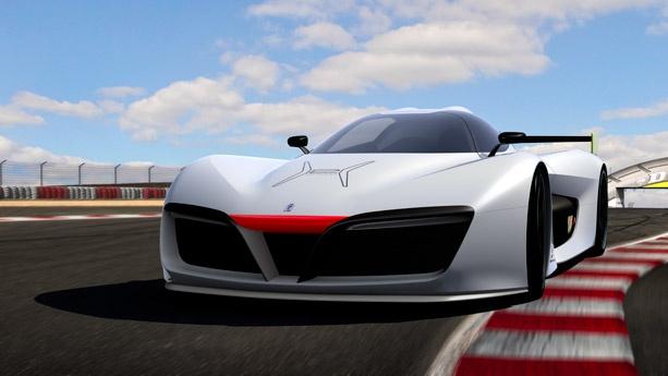 В Женеве представили скоростной водородный суперкар 3