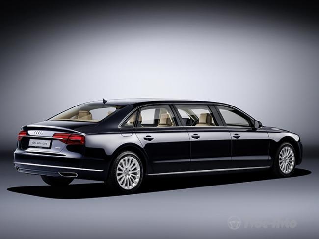 Компания Audi построила эксклюзивный шестидверный автомобиль 2