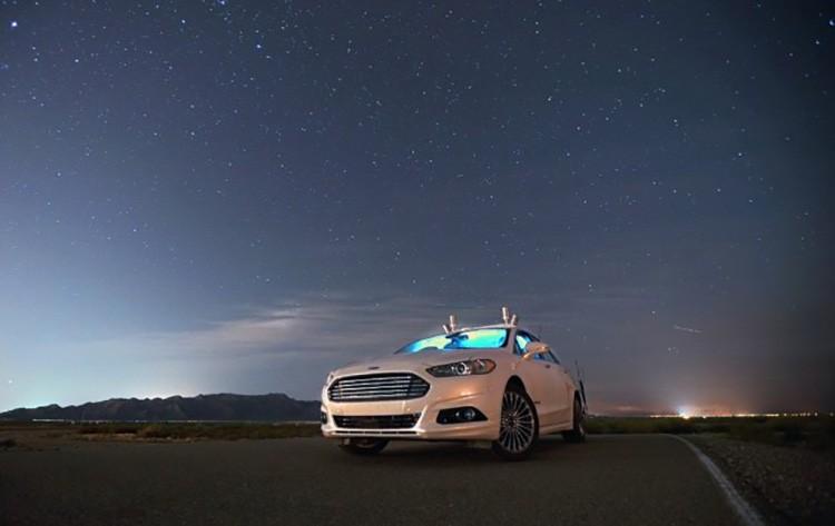 Состоялись тесты беспилотного автомобиля Ford в темное время суток 1