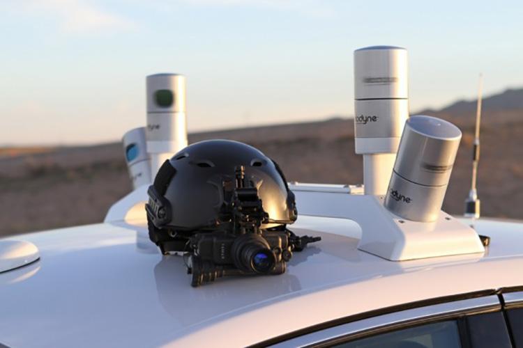Состоялись тесты беспилотного автомобиля Ford в темное время суток 3