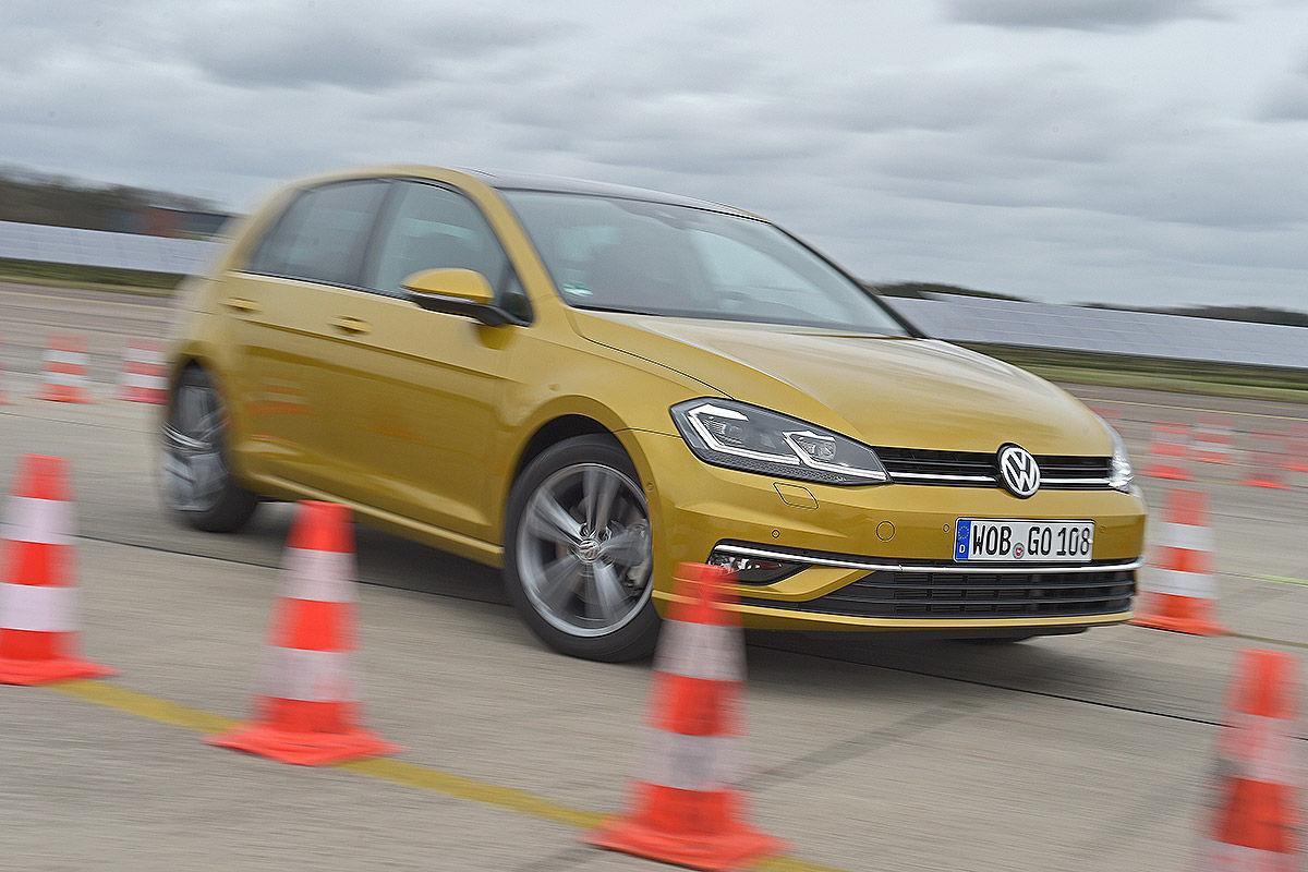 «Два характера одной машины»: тест-драйв VW Golf 3