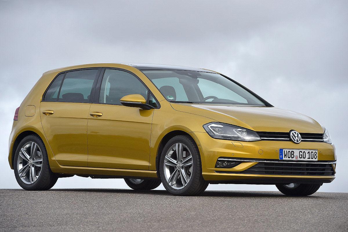 «Два характера одной машины»: тест-драйв VW Golf 1