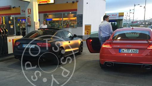 Засветилась самая мощная Audi TT RS 2