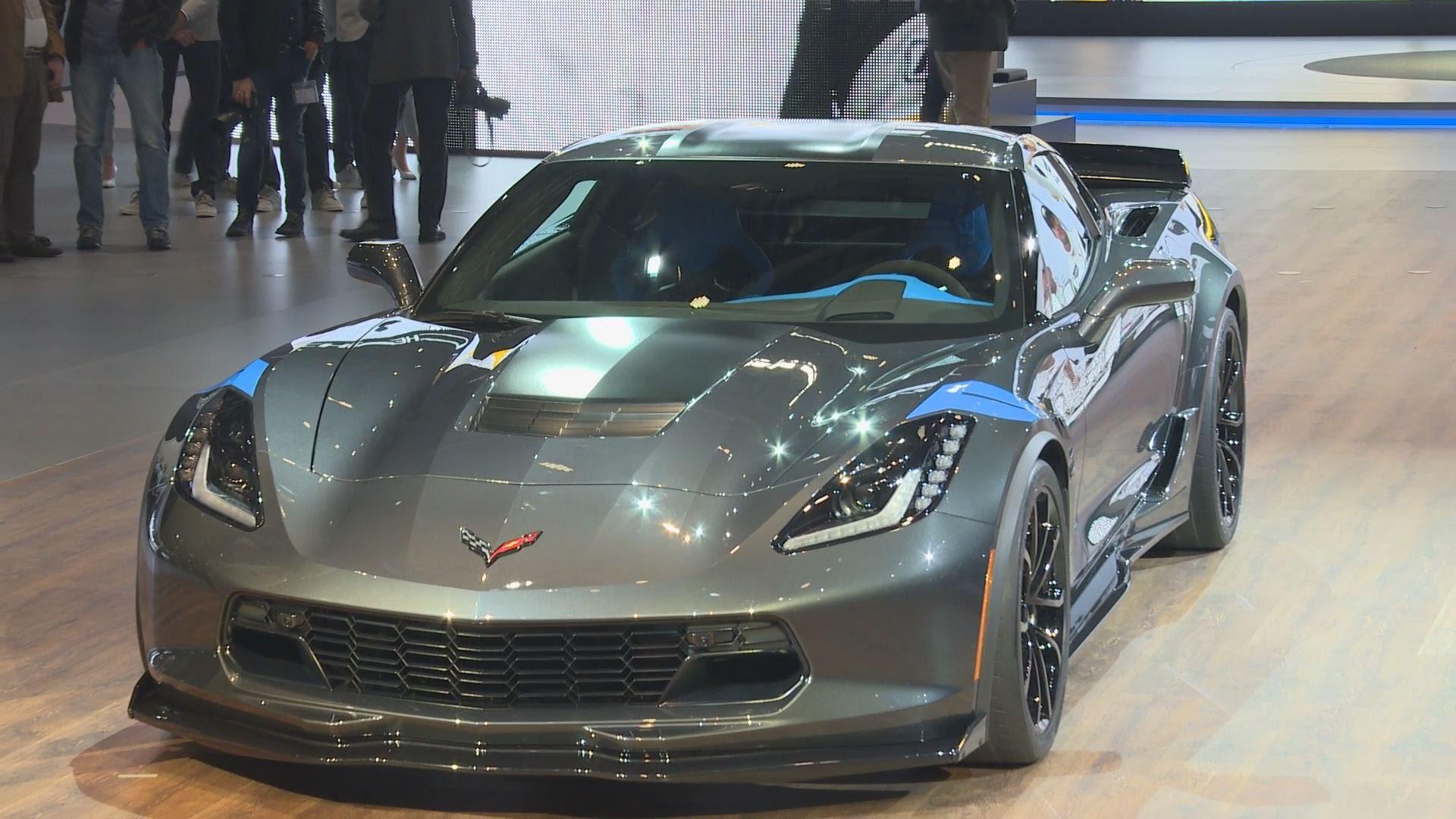 Chevrolet представляет новый Corvette Grand Sport 1