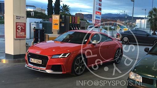 Засветилась самая мощная Audi TT RS 1