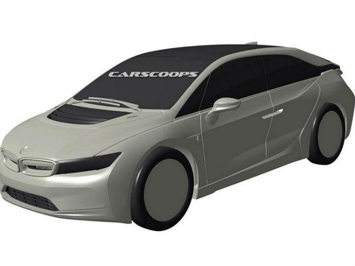 В Сети опубликовано изображение BMW i5 1