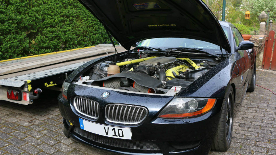 Эксклюзивный BMW с мотором от Dodge выставили на аукцион 2