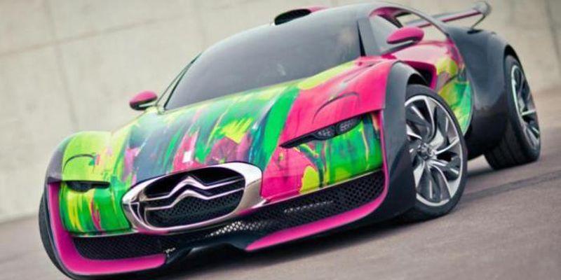 Автомобильная живопись от известных художников современности 4