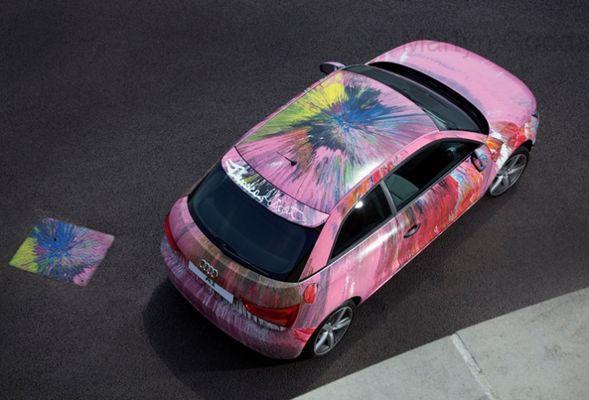 Автомобильная живопись от известных художников современности 9