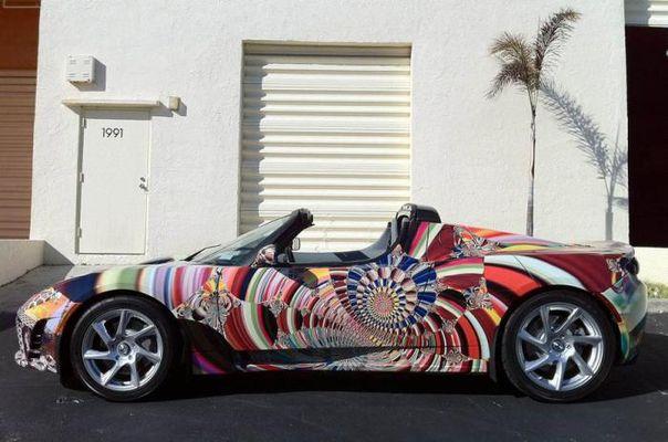 Автомобильная живопись от известных художников современности 2