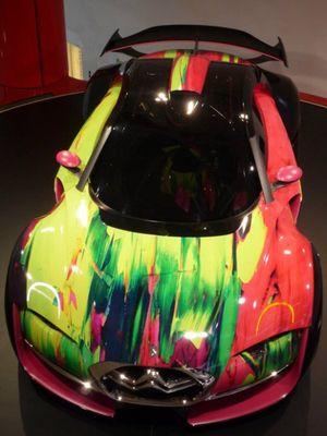 Автомобильная живопись от известных художников современности 5