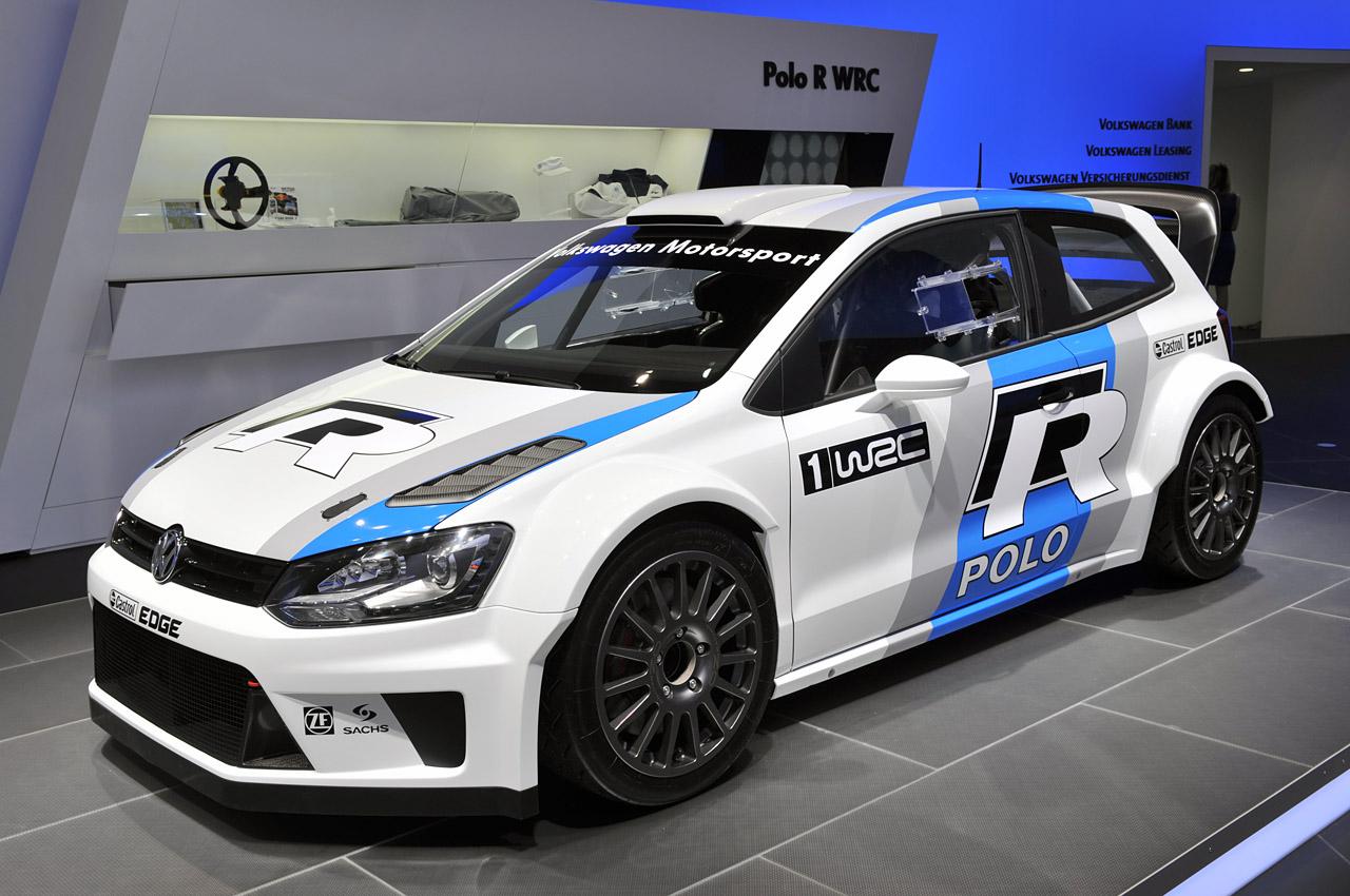 Компания VW создала сверхмощный Polo R WRC 1