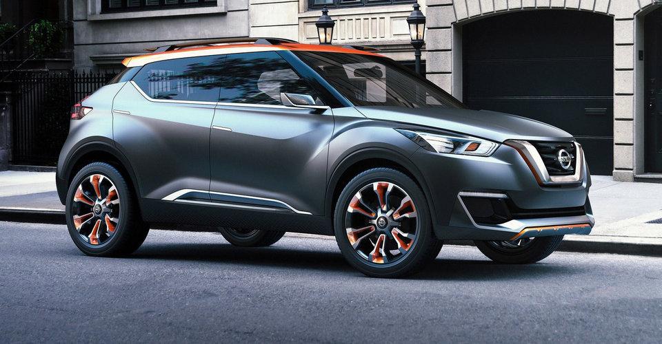 Nissan покажет серийную версию кроссовера Kicks 3