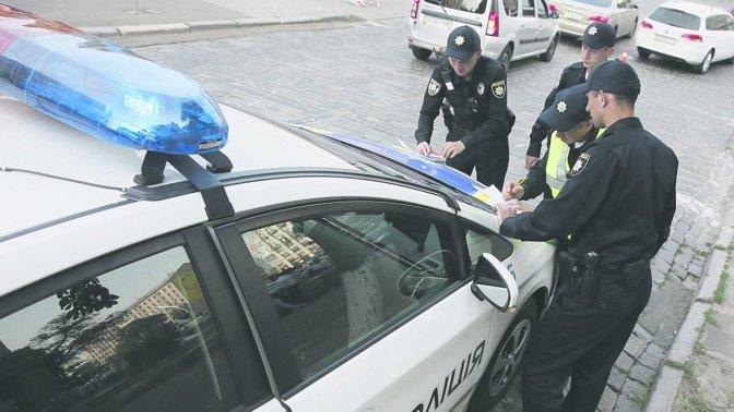 Патрульная полиция составила рекордное количество протоколов за нарушение ПДД 1