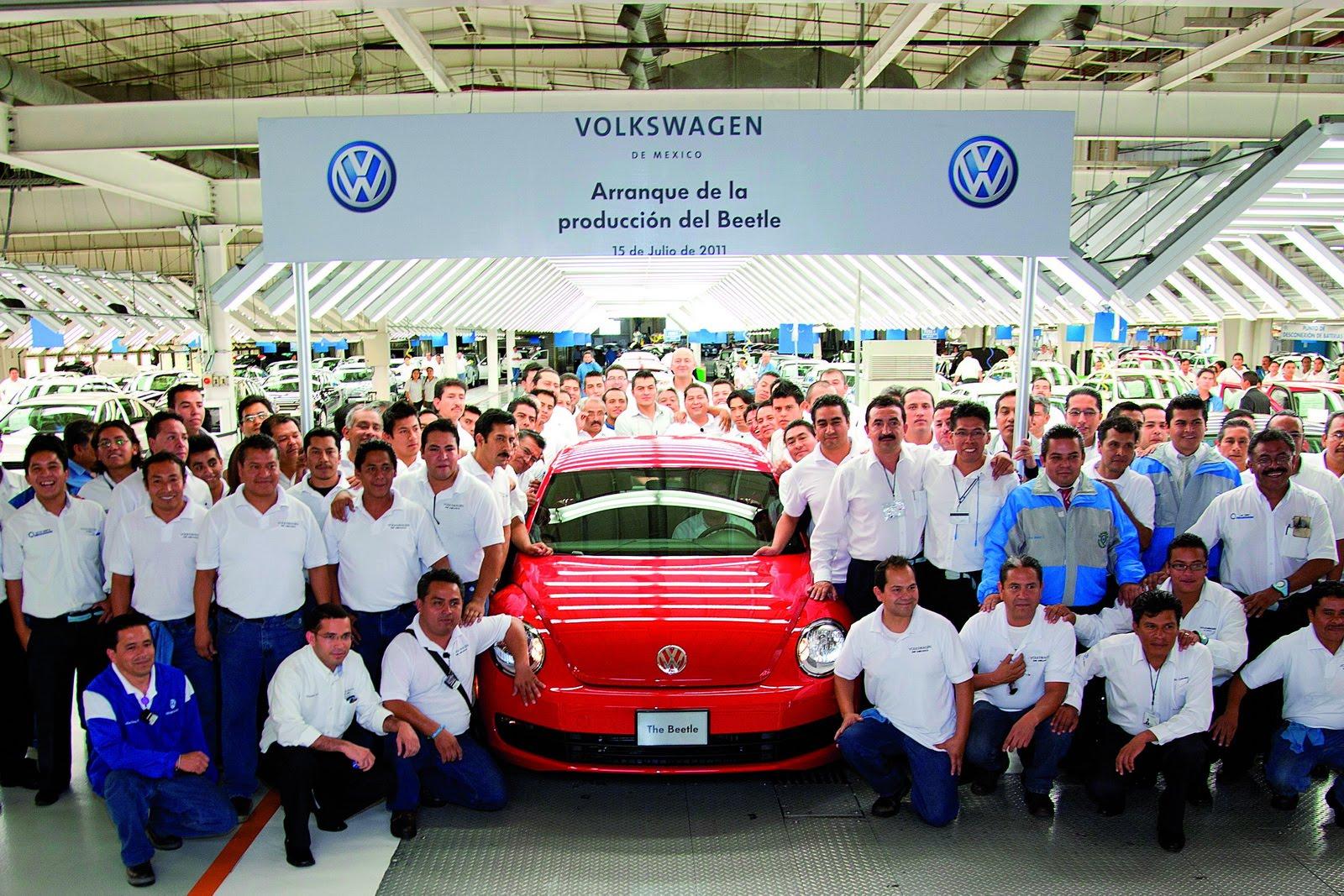 Компания Volkswagen завершает производство «Жука» 1