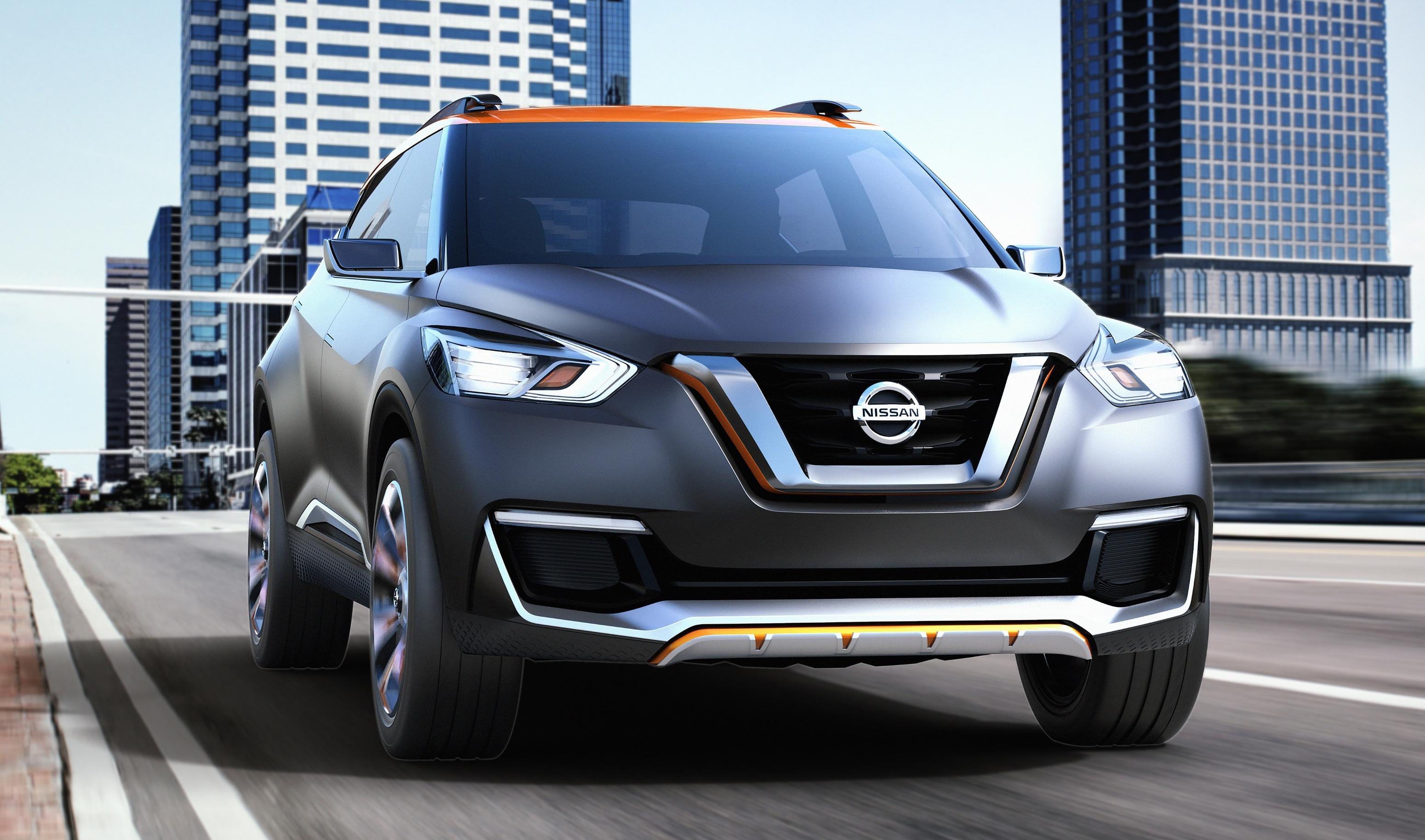Nissan покажет серийную версию кроссовера Kicks 1