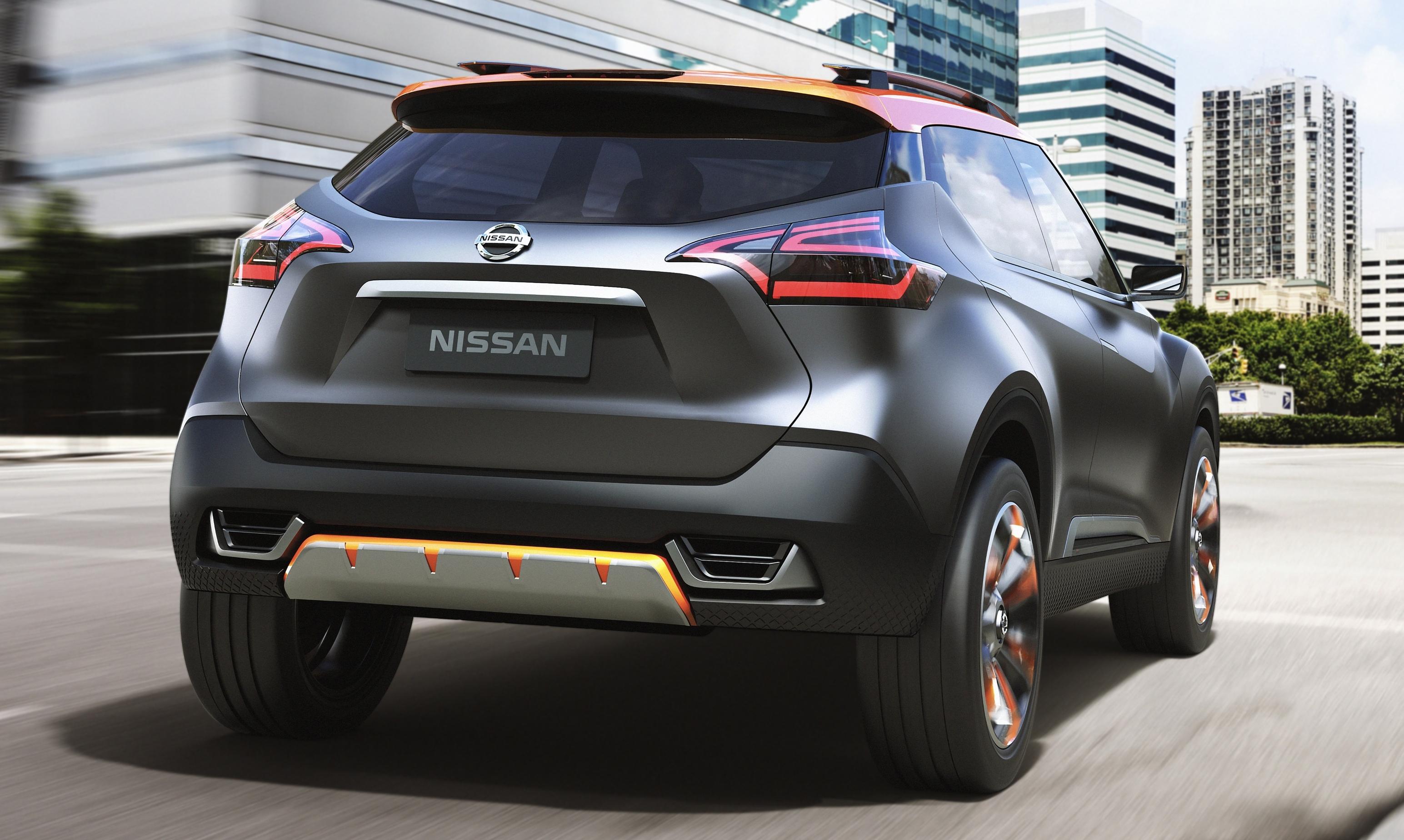 Nissan покажет серийную версию кроссовера Kicks 2