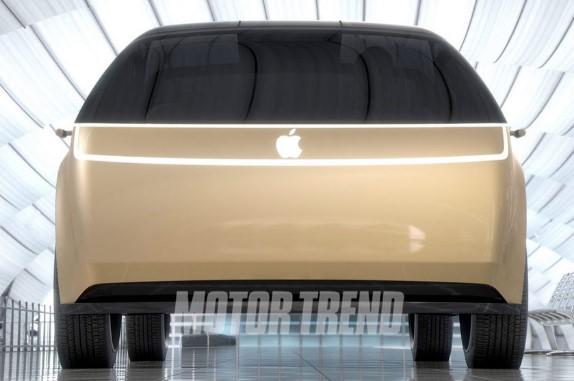 В Америке показали концептуальный электрокар от компании Apple 4