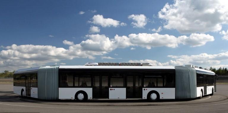 По улицам Германии курсирует самый длинный автобус на планете 1