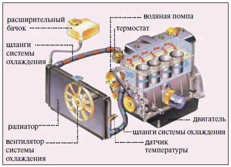 Как не допустить перегревания двигателя в жару 1