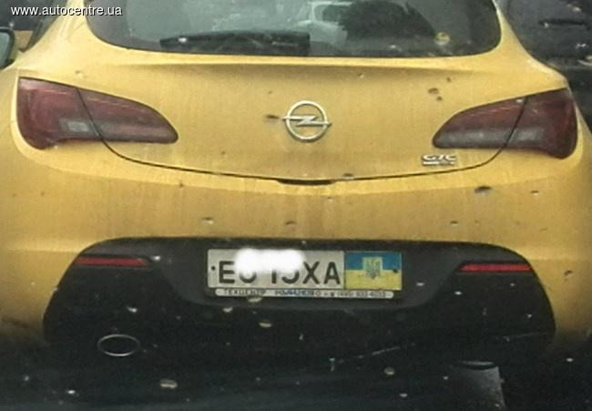 «Маскировка не удалась»: украинские номера на российских авто 2