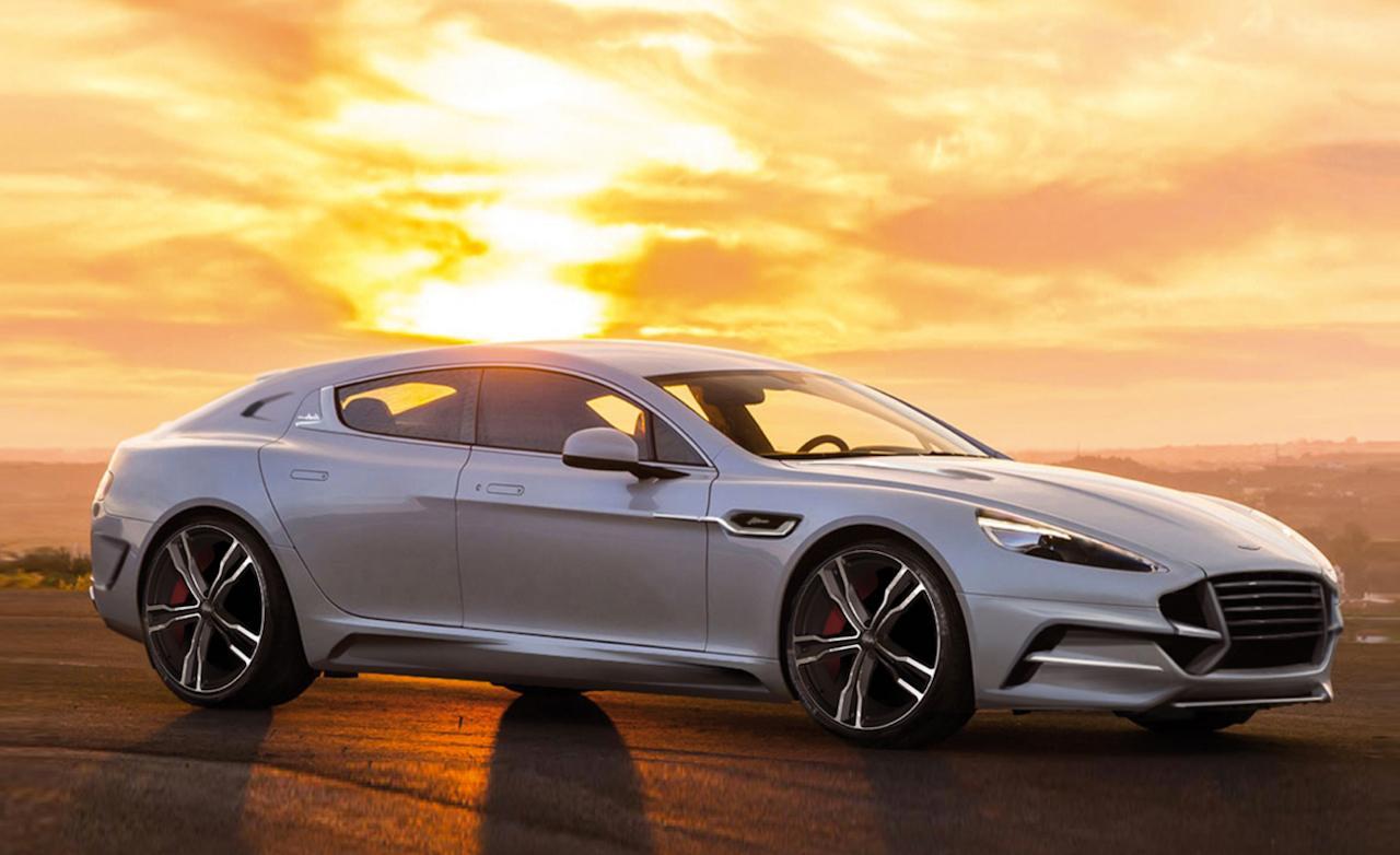 Aston Martin Rapide получит электромотор 1