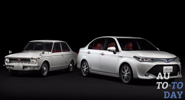 Toyota Corolla празднует полувековой юбилей 1
