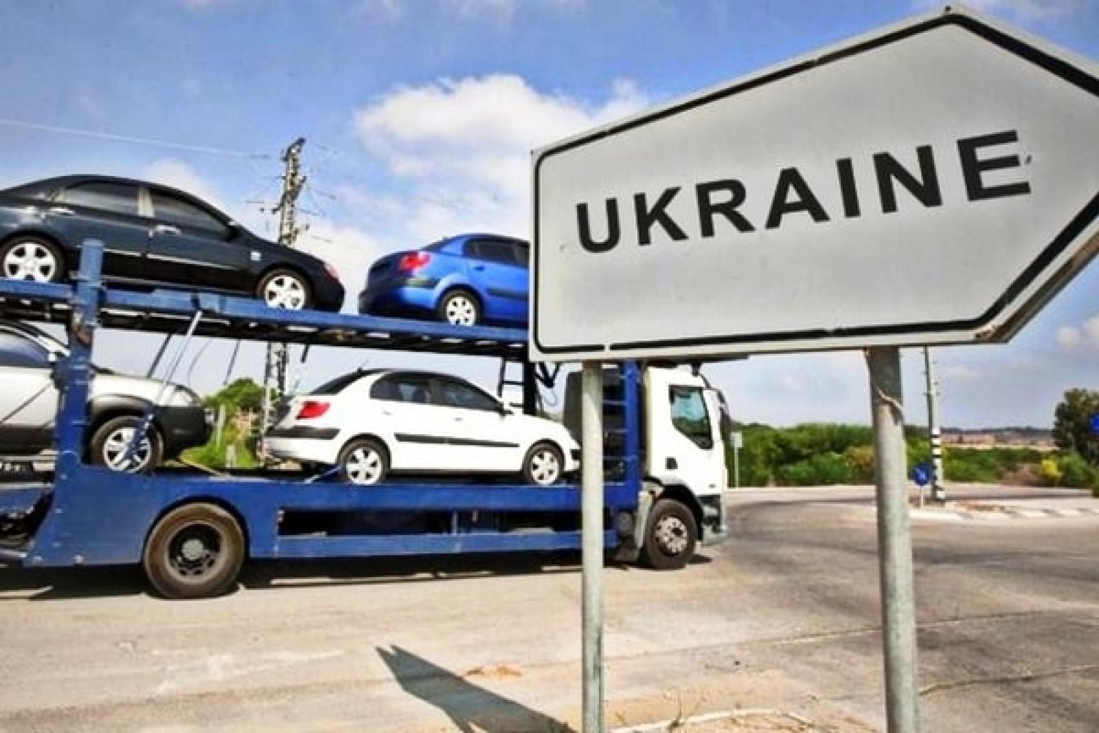 Украинский автоимпорт вырос на 60% 1