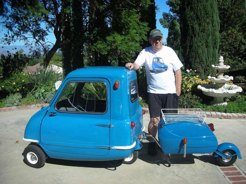 Самый маленький автомобиль в мире стал электрокаром 2