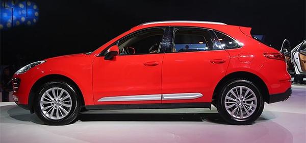 В Поднебесной раскупают клоны Porsche Macan по 13 тыс.евро 2