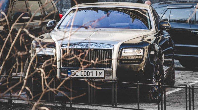 В Украине обнаружен коллекционный Rolls-Royce 1