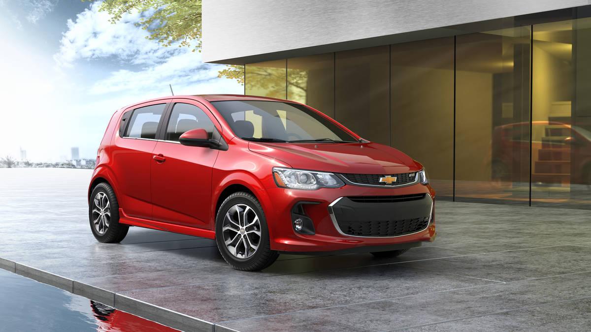 Компания Chevrolet обновила модель Sonic 2