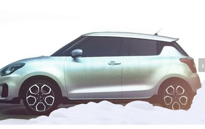Компания Suzuki презентует новый Swift 1