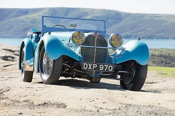 Bugatti, выпущенный в 1937 году, продан за 10 миллионов долларов 1