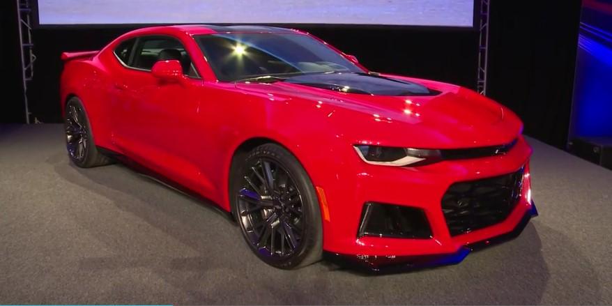 Новый Chevrolet Camaro оборудуют 10-ступенчатым автоматом 1