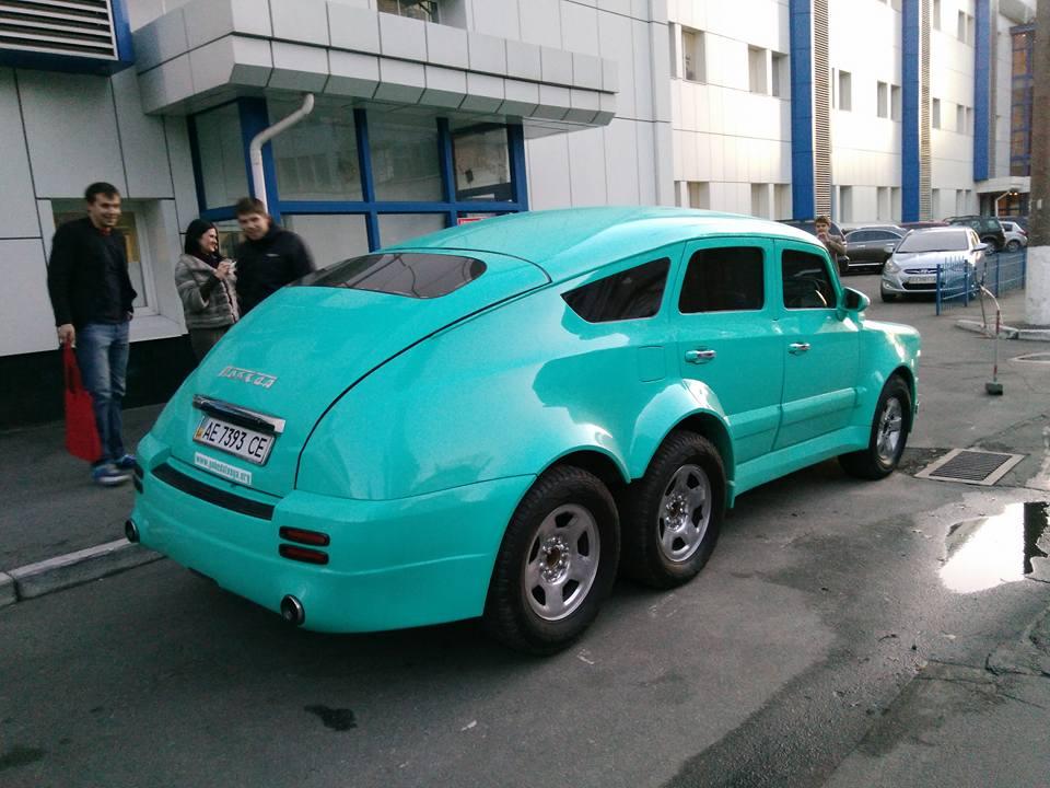 Украинец превратил старую «Победу» в комфортабельный автомобиль 1