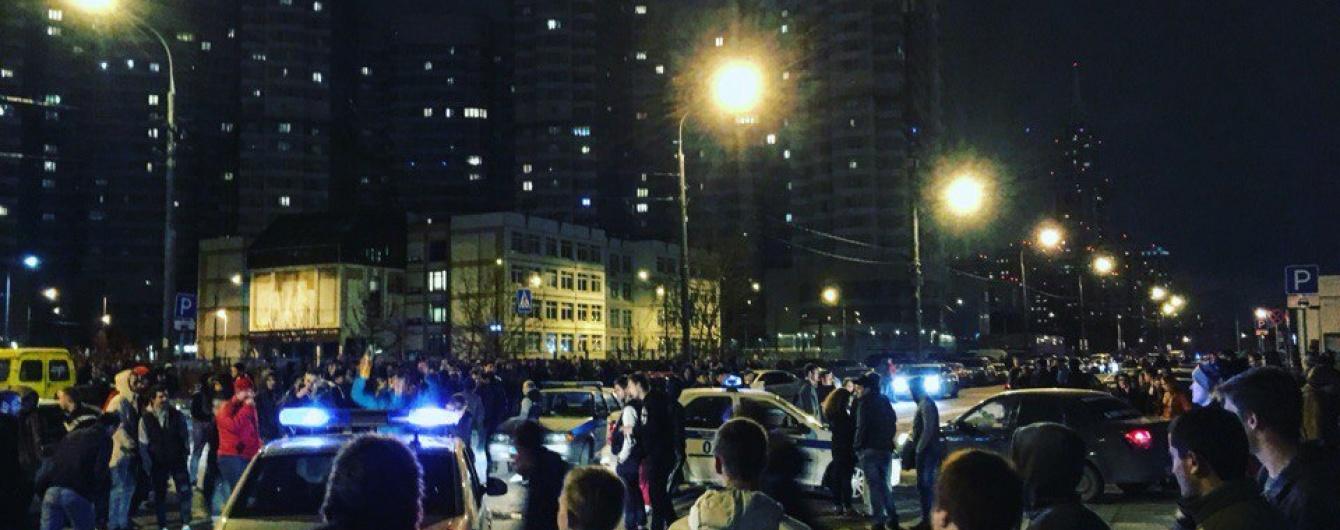 В Москве полиция «разогнала» ночных стритрейсеров 2