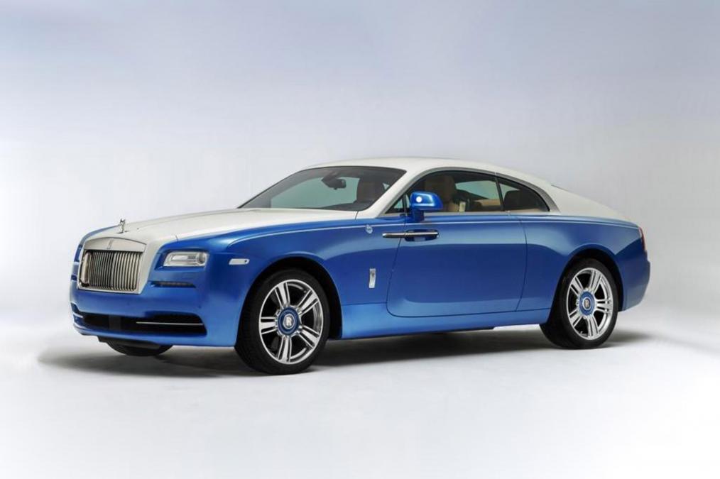 Rolls Royce выпустит «морскую» версию купе Wraith 1