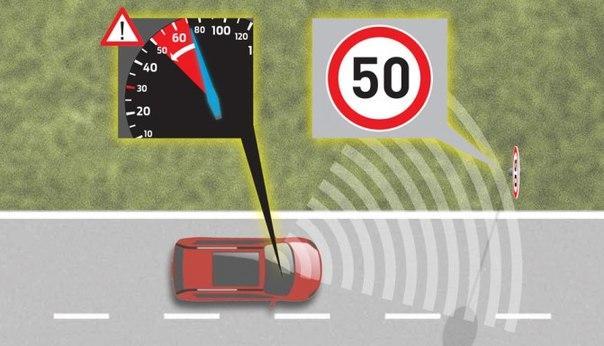 Создан первый автомобиль, который самостоятельно сканирует дорожные знаки 1