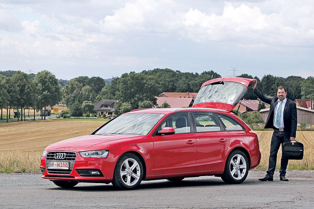 Обзор б/у авто: Audi A4 - «пробег, которого не ощущаешь» 2