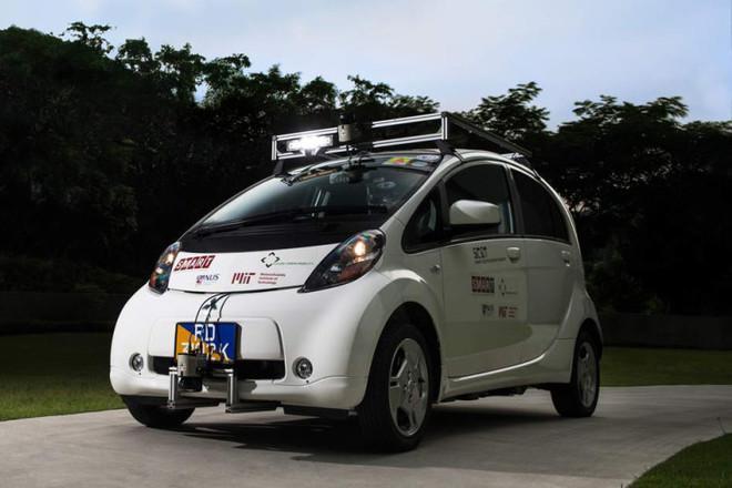 Первое в мире беспилотное такси выехало на дороги 2