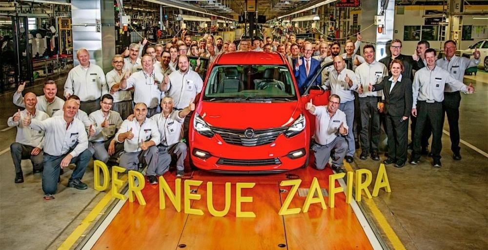 Марка Opel запустила в серию новую модель 1