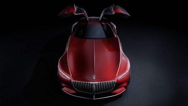 Mercedes-Benz представил новое концептуальное купе 1